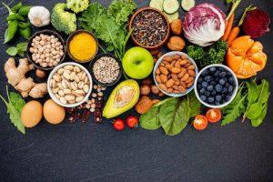 fresh fruit veg nuts